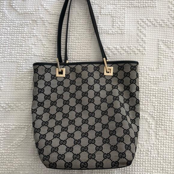 c18d16dfaa917f Gucci Small Canvas Bucket Tote Bag. M_5b50f13faa5719210faa9895